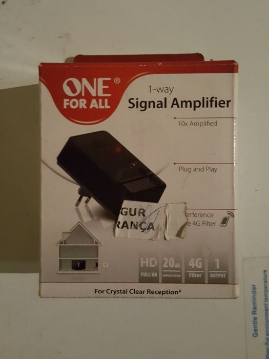 Ampliador sinal tv