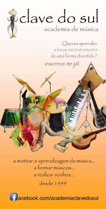 Beja Aulas de Piano / Guitarra / Bateria