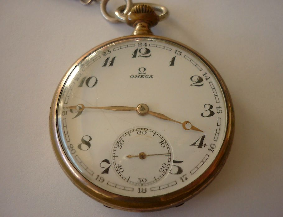 8a45ecd0310 Relógio de bolso vintage OMEGA (original de colecção)