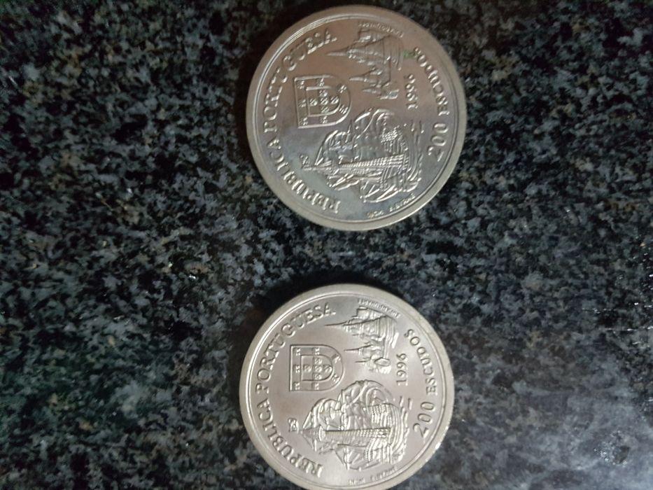Moedas 200 escudos 1996