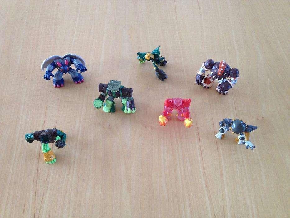 7 Miniaturas dos Gormiti em PVC (Portes incluídos)