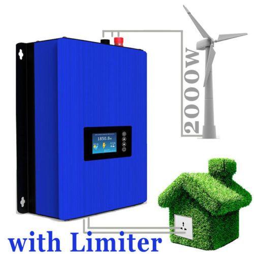 inversor para eólica 3 fases ,on grid 1000 w ou 2000 w com wifi