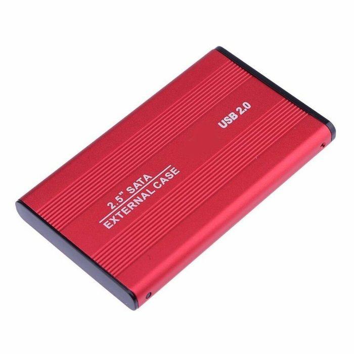 """USB 2.0 2,5"""" caixa para Disco Duro HDD - transforma num disco externo"""