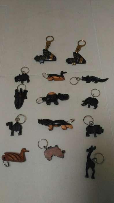 Porta chaves de madeira África