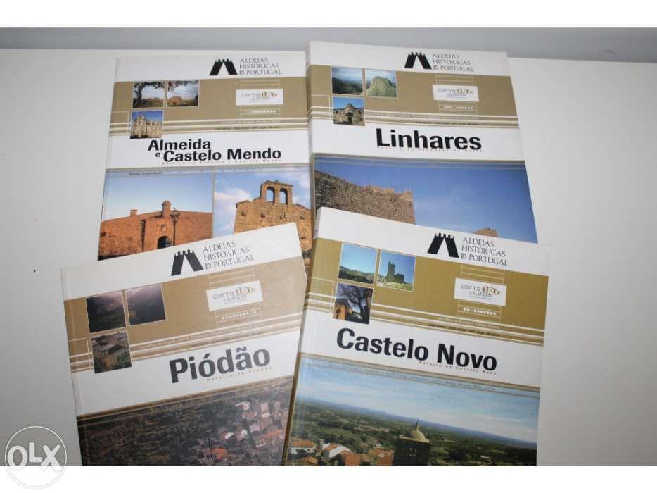Aldeias históricas de Portugal - 4 livros 6fe2ef35a2170