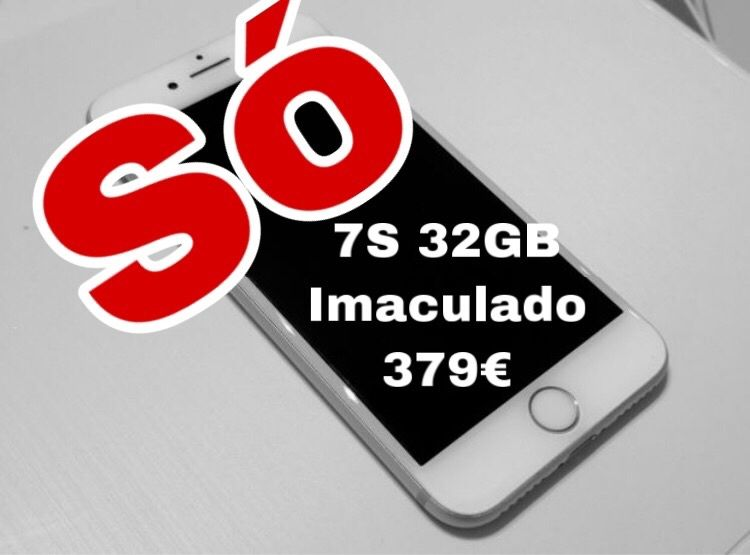 IPHONE 7s 32GB Novo