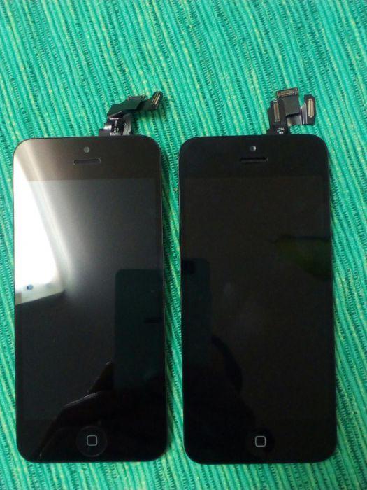 Display touch iphone 5c para peças