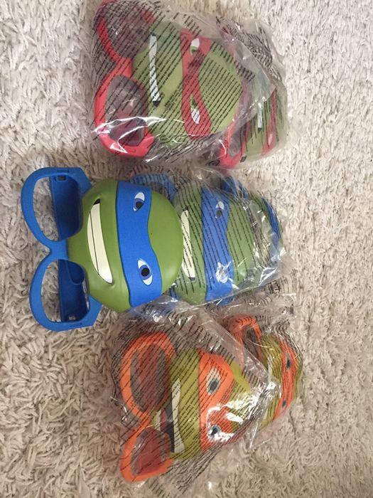 Óculos tartarugas ninja 7 peças