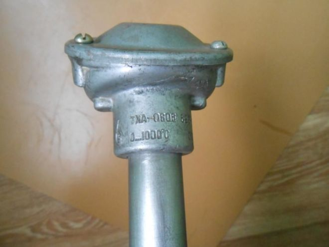 Термопара ТХА0806 (ТХА2388), длина 1250 мм, температура 1000с