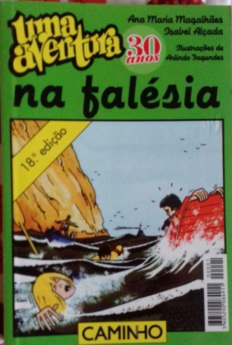 Uma aventura na falésia e Uma aventura debaixo da terra - Um só livro