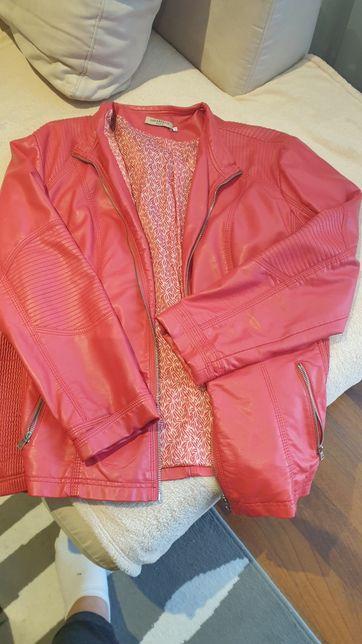 kurtka wiosenna skóropodobna