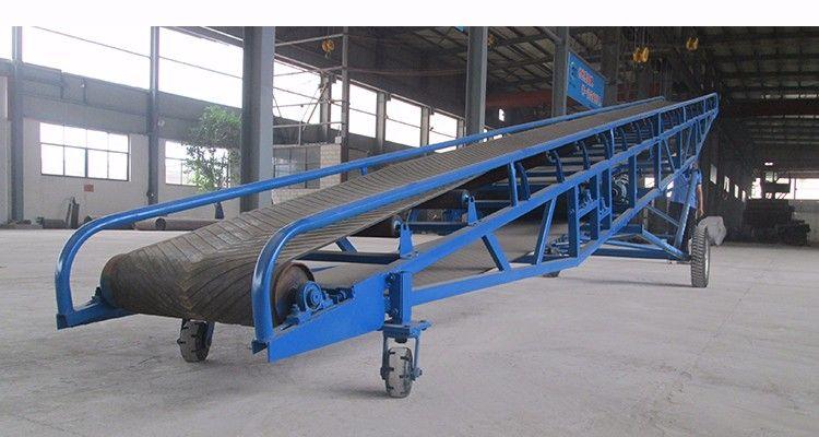 Мобильные ленточные транспортеры ленточный конвейер 800 мм