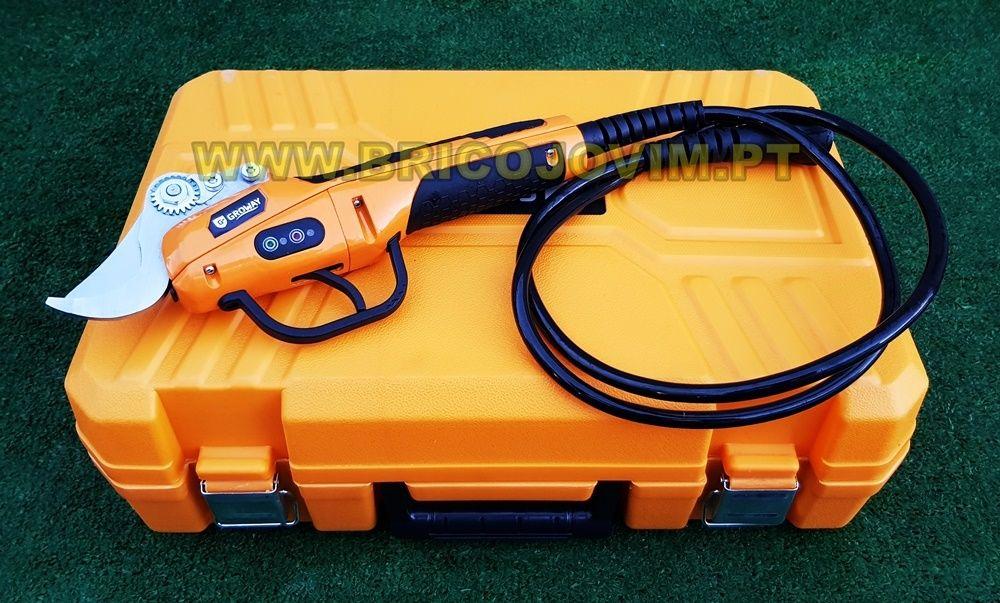 Tesoura Poda Eléctrica Bateria - Bateria 4Ah/56V - Uso Intensivo NOVAS Gondomar - imagem 2