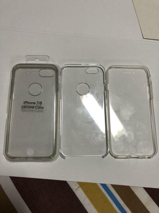 Capa para iPhone 7/8 dupla face