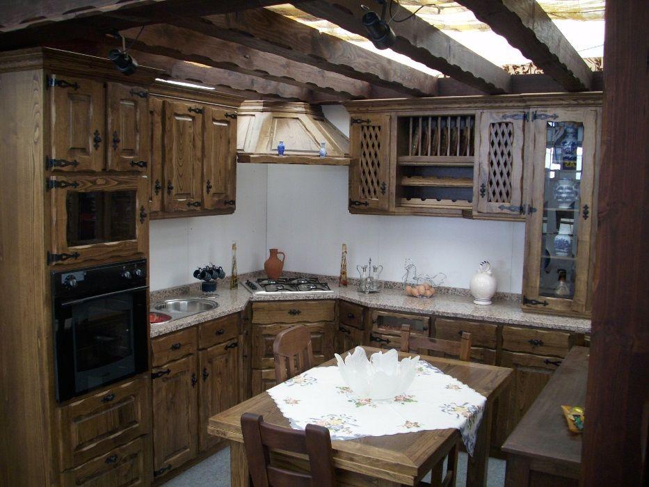 Cozinhas rústicas por medida ( fábrica )