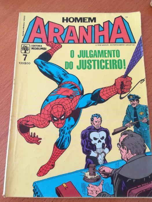 Banda desenhada Homem Aranha 1988