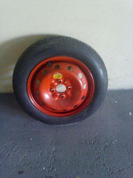 Roda de emergência Fiat (4 parafusos)