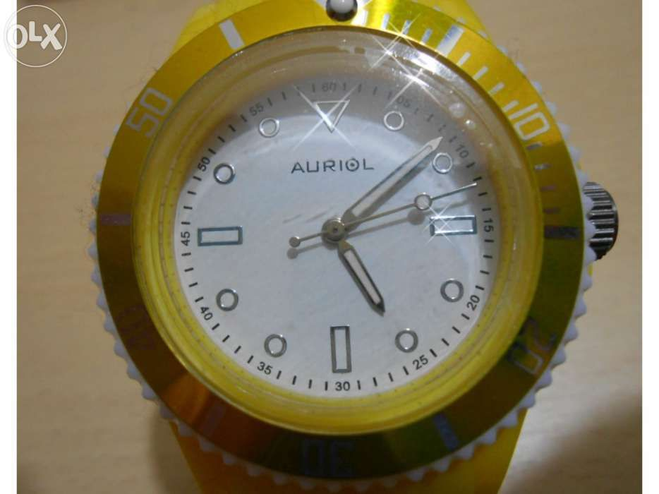 e01191e314d Relógio auriol yellow