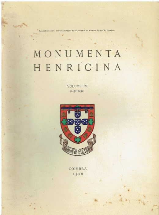 9013 Monumenta Henricina - Vols. - 1 ao 4. Cidade Da Maia - imagem 4