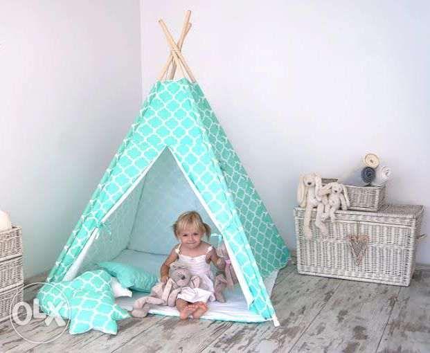 Tenda, Casinha para crianças: colchão,3 almofadas e entrega Oeiras - imagem 1