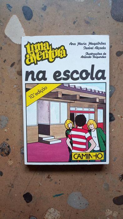 """Livro """"Uma Aventura na Escola"""" Lamego (Almacave E Sé) - imagem 1"""
