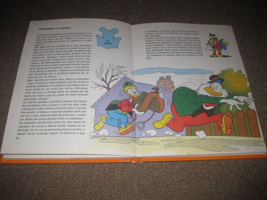 """Livro """"Jogos de Ar Livre"""" da Walt Disney Trofa - imagem 3"""