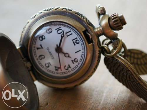 ee25ad85b7d Harry Potter - colar ou relógio de bolso snitch - NOVO SELADO
