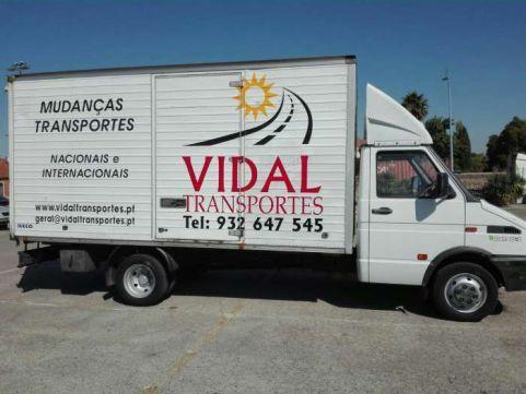 Mudanças e transportes vidal, Venteira - imagem 1