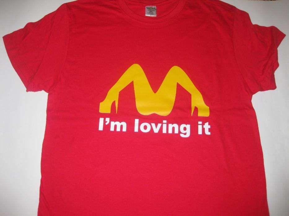 T-shirts com piadas! Novo e embalado!