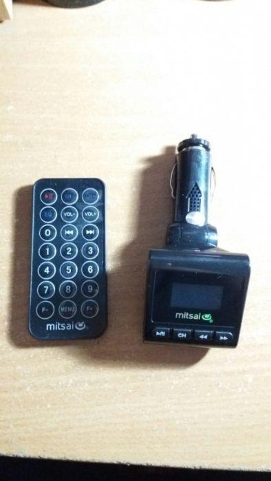 Transmissor de Isqueiro USB e Cartao