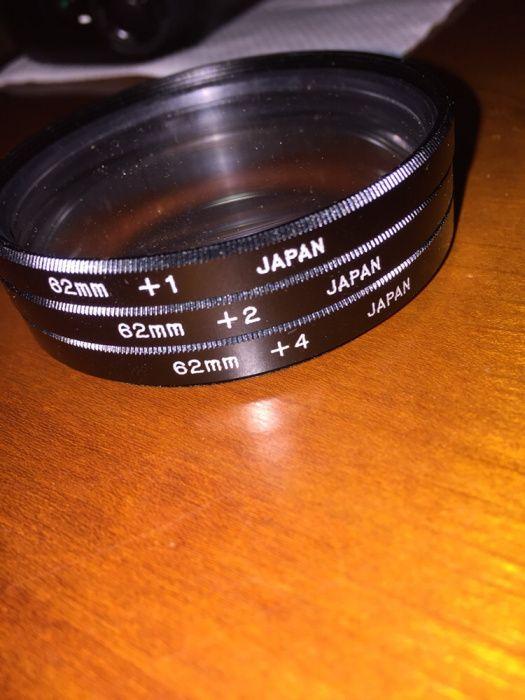 Kit filtros close up