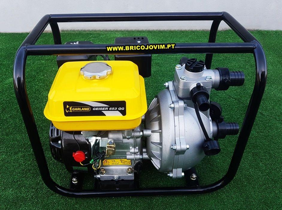 Motobombas Alta Pressão Novas - Motor 163cc - Elevação 55mts - Garland Gondomar - imagem 2