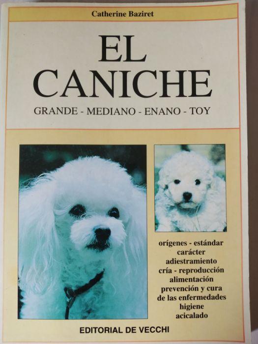 Livro raça cães Caniches