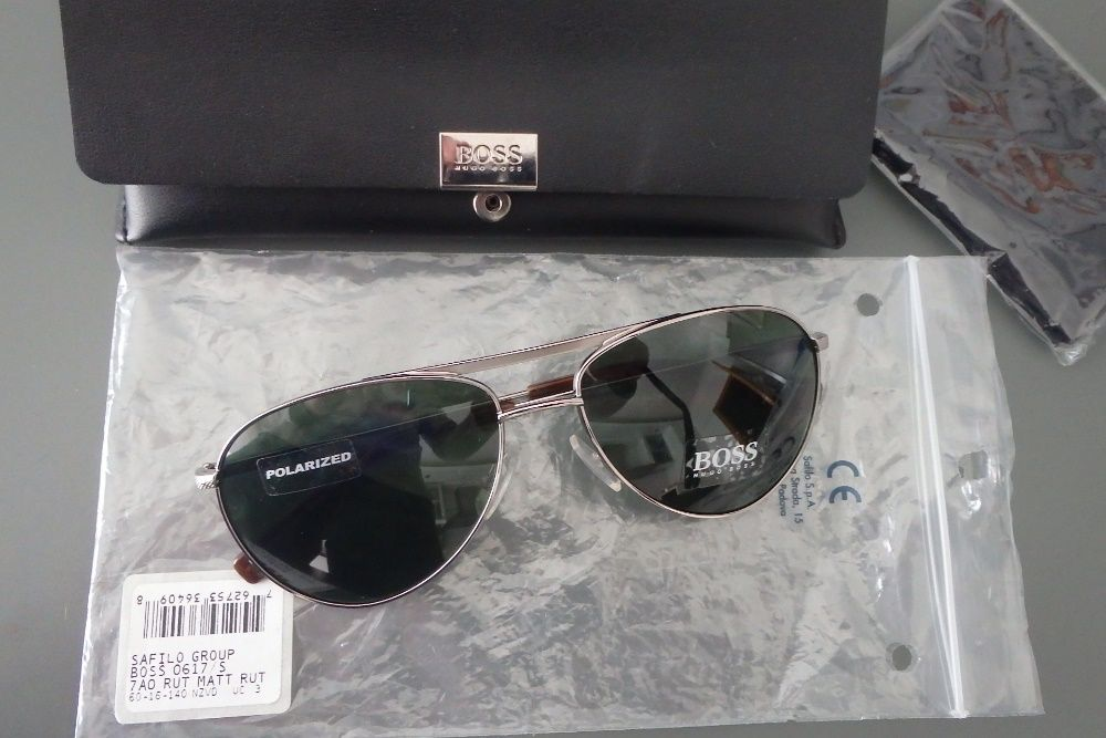 Óculos de sol Hugo Boss polarizados 1c23ed9cd5