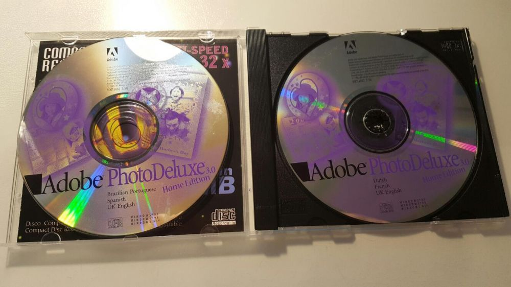 CD Adobe Photo Deluxe 3.0 Home Edition