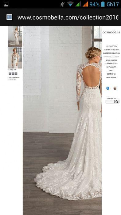 Vestido noiva cosmobella
