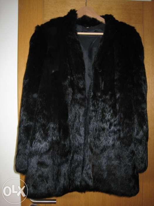 Casaco peles vison preto novo nunca usado (dasco) Odivelas