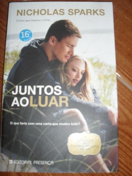 Livro Juntos ao Luar de Nicholas Sparks