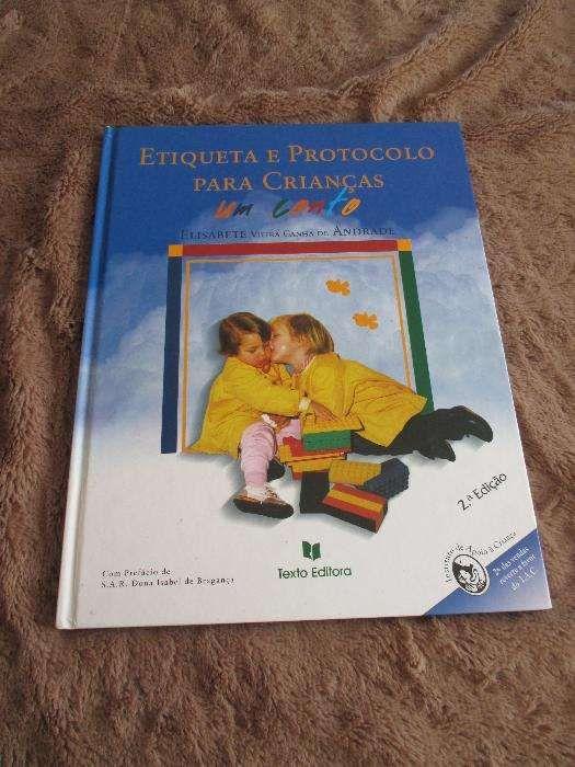 Livro-Etiqueta e protocolo para crianças