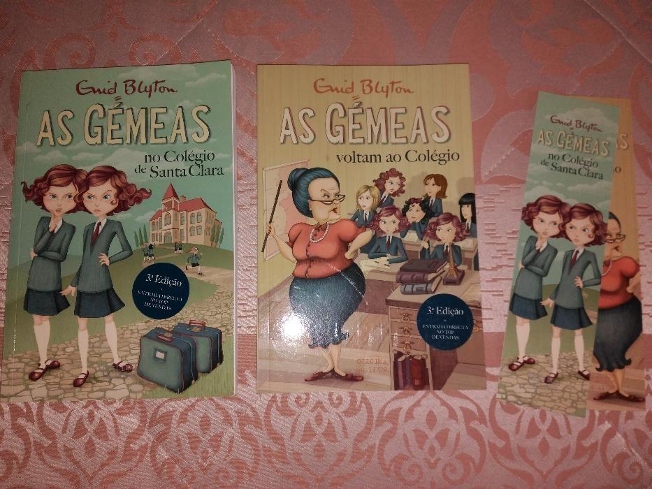 """Livros da coleção """"As Gémeas"""""""
