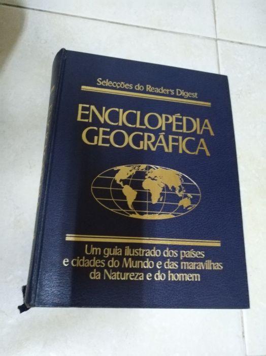 Livro Enciclopédia Geográfica