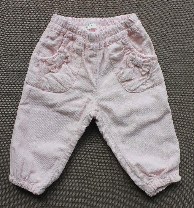 Calças Benetton baby de algodão