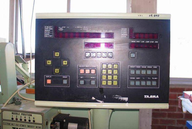 Computador Tajima TMEF612 A