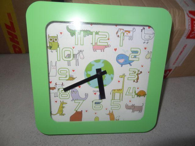 d6eb99a26b9 Relógio de parede para criança