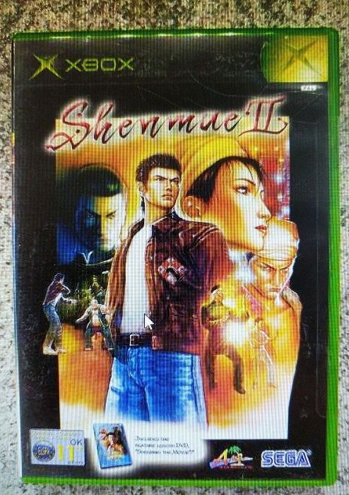 Shenmue II (Xbox) + Shenmue: The Movie (DVD)