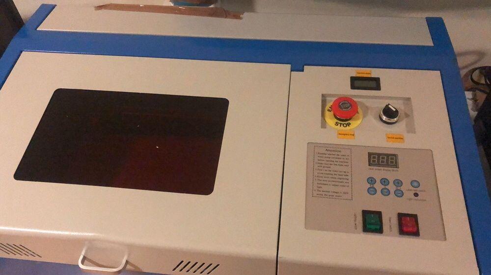 Máquina Gravador/Corte a Laser Co2 40w (NOVAS E FATURADAS) Lago - imagem 3
