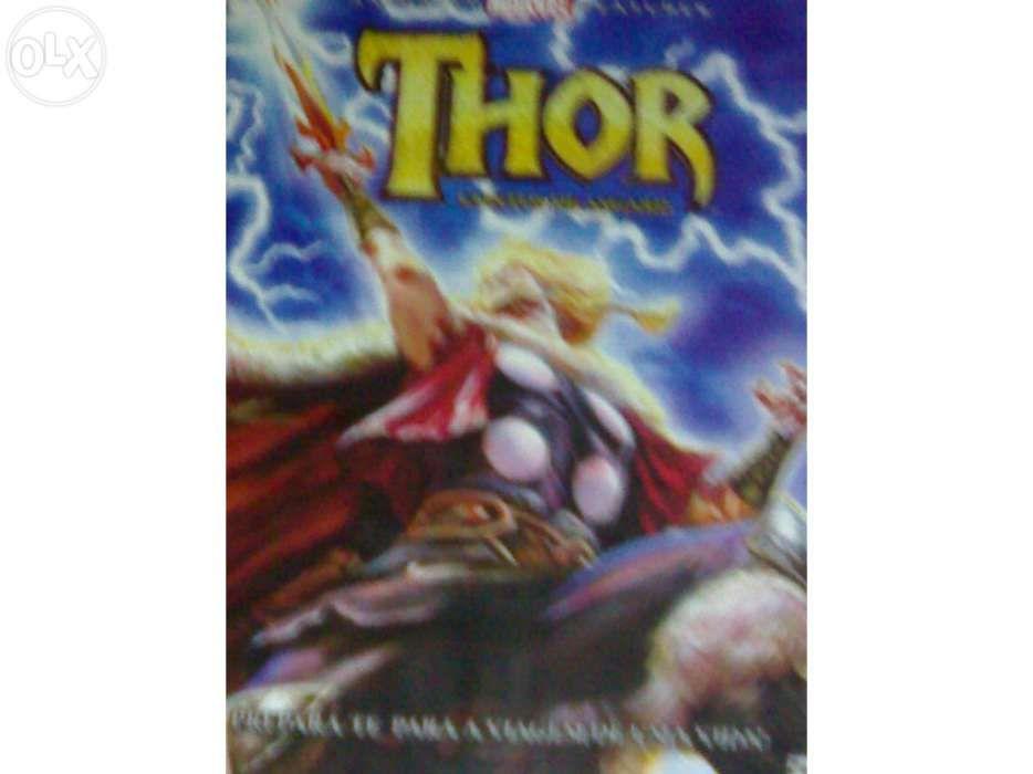 Dvd thor novo selado desenho animado