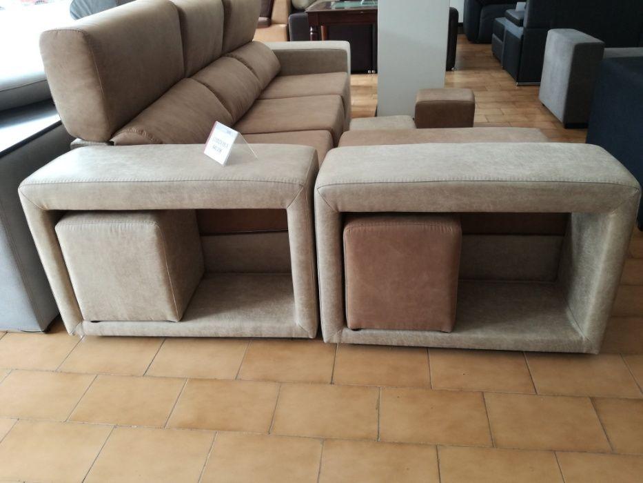 Sofá Cordoba com 270 cm, novo de fábrica chaise longue reversível Malveira E São Miguel De Alcainça - imagem 3