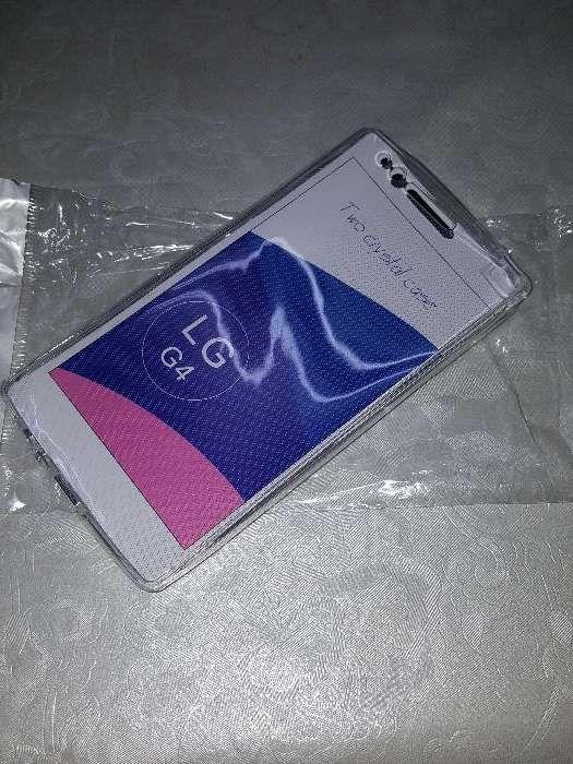 Vendo capa cristal integral frente e verso LG4 - novo nunca foi usado