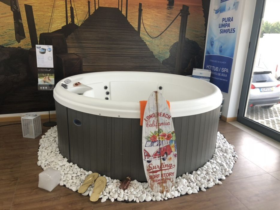 Hidromassagem mini piscina